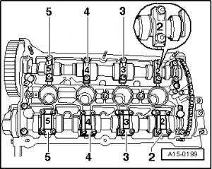 1.8t cam cap layout