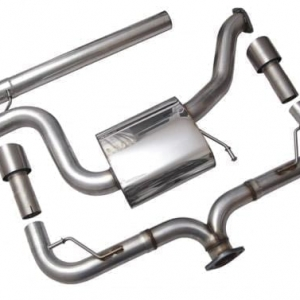Racingline Audi S3 (8V) Sedan Cat Back Exhaust System Non Valved