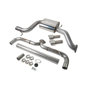 Racingline Audi S3 (8V) 3DR Cat Back Exhaust System Valved