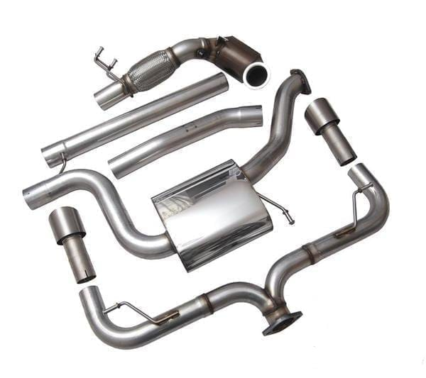 Racingline Golf 7 'R' Downpipe with Cat-Delete