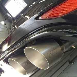 Racingline Golf 7 R Cat Back Exhaust System Valved