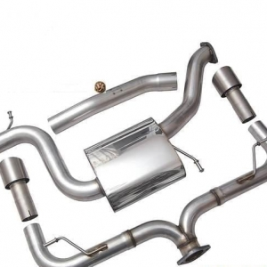 Racingline Audi S3 (8V) 5DR Cat Back Exhaust System Non Valved